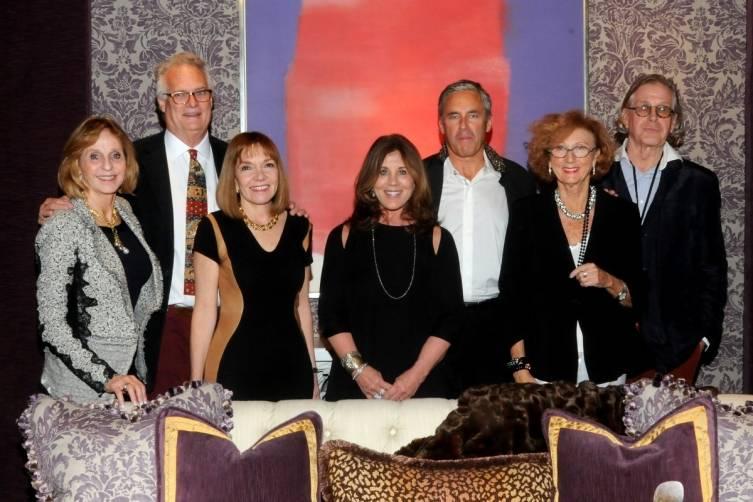 Gil Walsh, William and Phyllis Taylor, Suzanne Kasler, Campion Platt, Jenny Garrigues,Lars Bolander