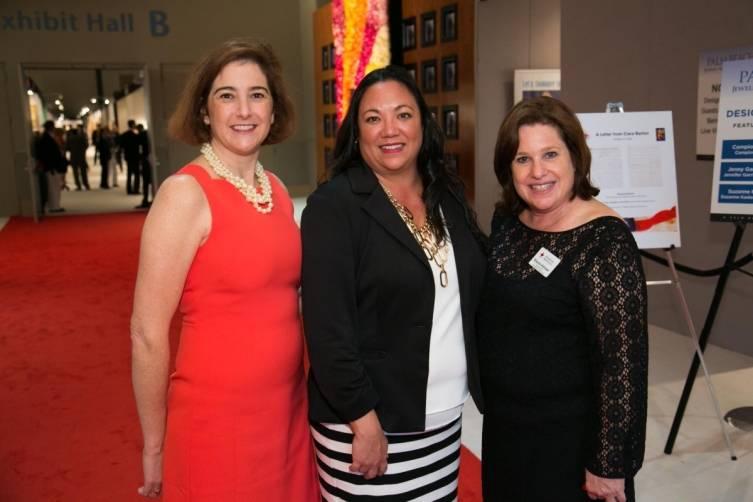 Amy Mauser, Anna Erickson and Sharon Kitroser