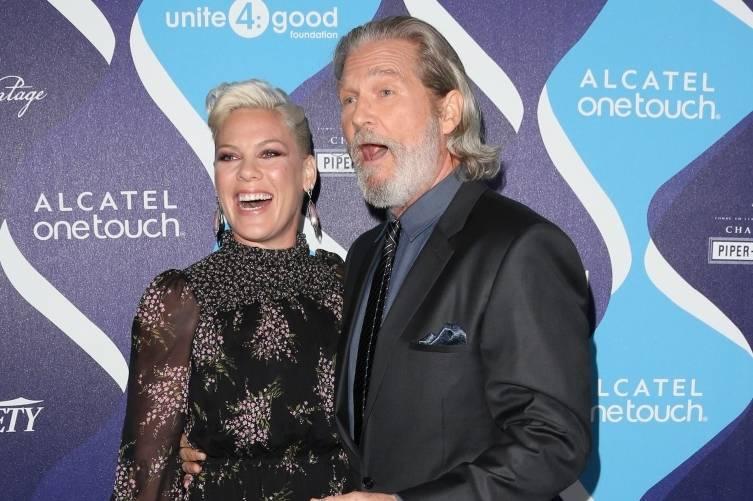 Pink and Jeff Bridges