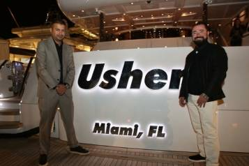 Aboard the Usher