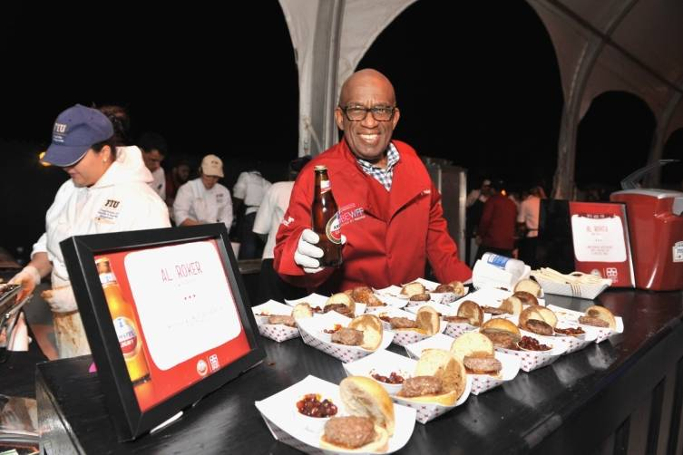 Al Roker at Burger Bash
