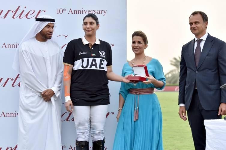 Ali Albwardy, HH Sheikha Maitha Bint Mohammed Bin Rashid Al Maktoum, HRH Princess Haya Bint Al Hussein, Laurent Gaborit