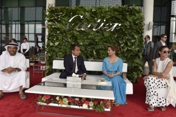 Ali Albwardy, Laurent Gaborit, HRH Princess Haya Bint Al Hussein, Olivia Palermo