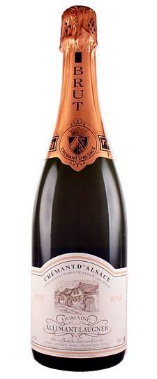 Allimant Laugner Cremant d'Alsace Rosé