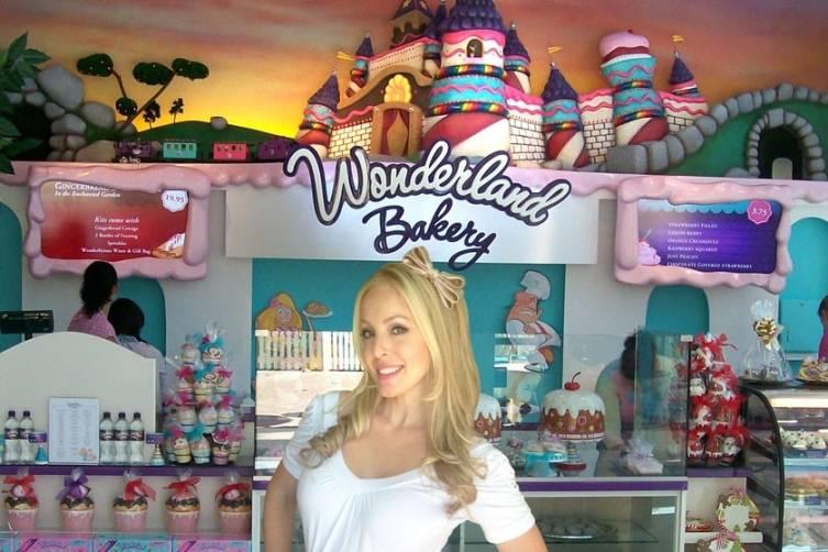 Allyson Ames at Wonderland Bakery