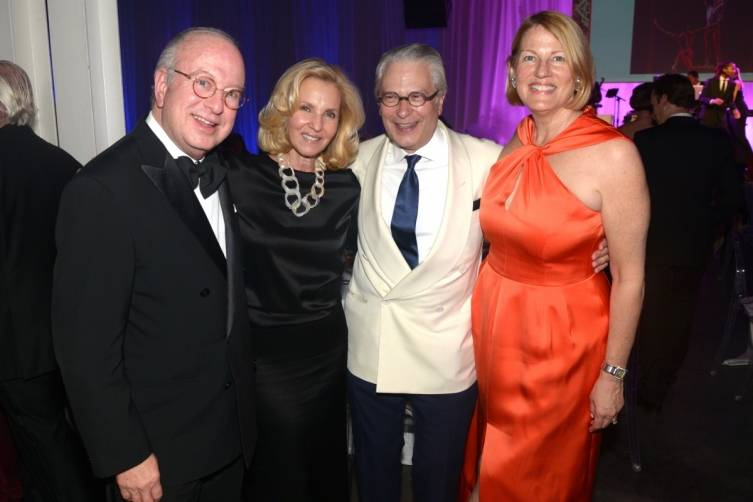Ambassador Paul & Trudy Cejas with Edward Shumsky and MCB Chairman, Sue Kronick at that 2015 Miami City Ballet Gala