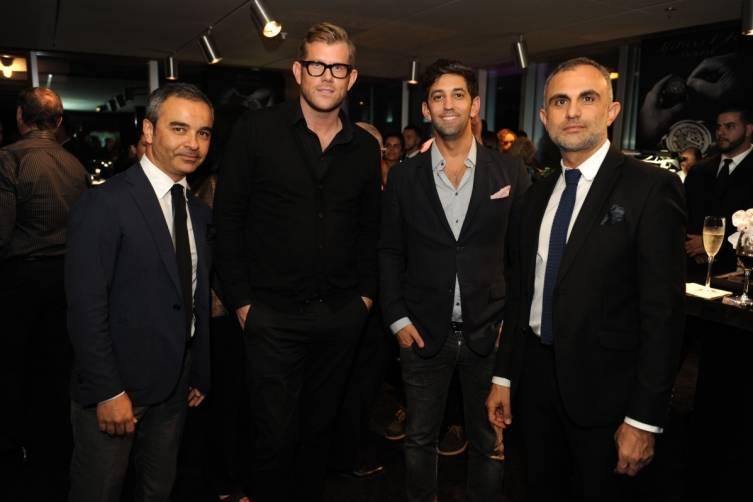 Amir Azar, Timothy Walker, Arshan Borhan, & Ardi Saidi