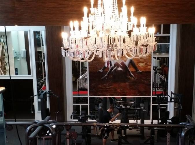 Anatomy Gym Floor