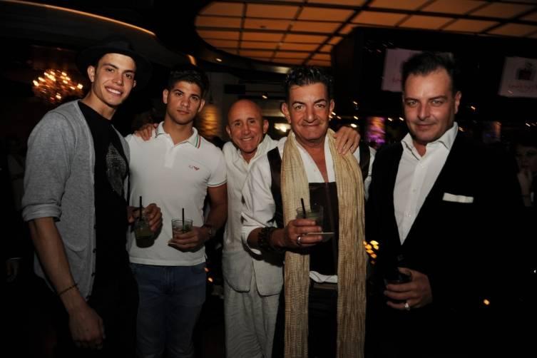 Angelo Cortina, Alex Cowley, Carlo Justo, Hector Martinez, Rick Campbell