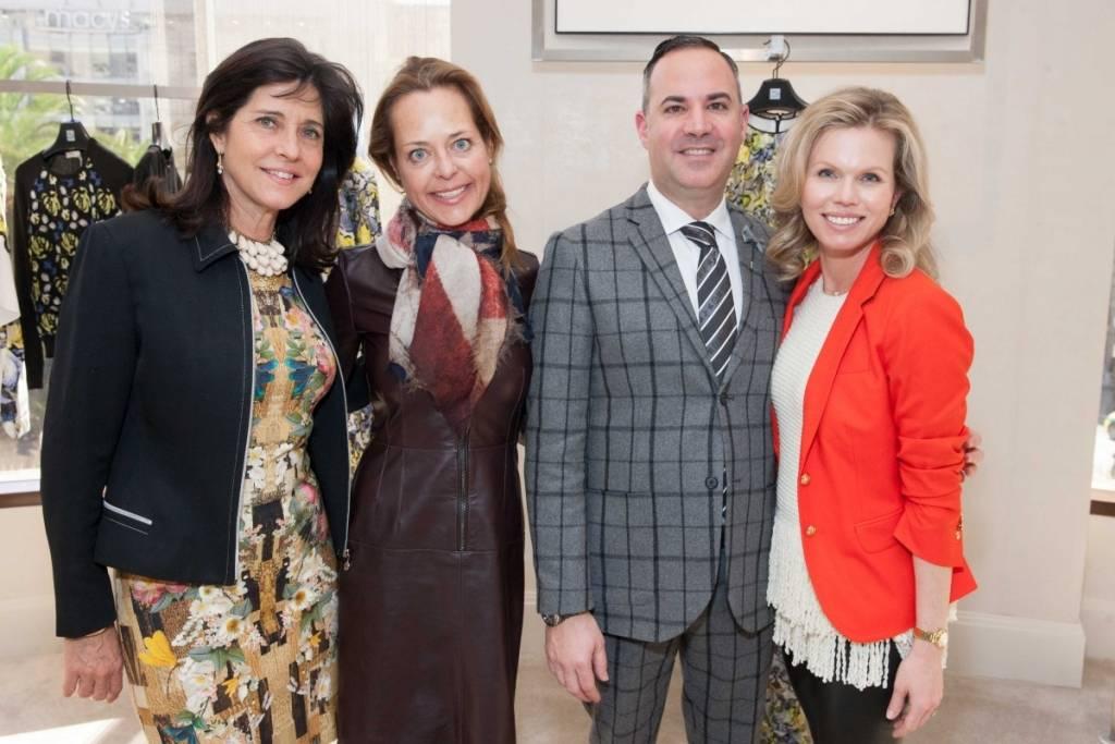 Anne Marie Massocca, Charlot Malin, Robert Arnold-Kraft and Claire Fluhr