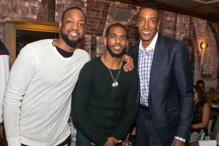Dwyane Wade, Chris Paul, Scottie Pippen
