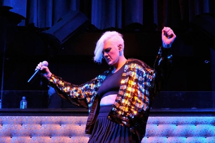 Betty Who - LAX Nightclub Mardi Gras Masquerade - 2.19.15 2