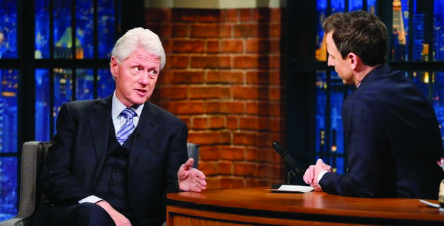 Bill Clinton Seth Myers copy