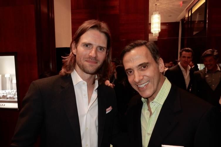Brad Murray and Dr. Alan Malouf