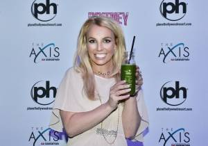 Britney Spears at The Juice Standard