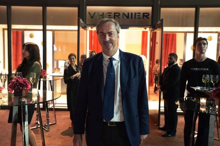 Vhernier President, Carlo Traglio