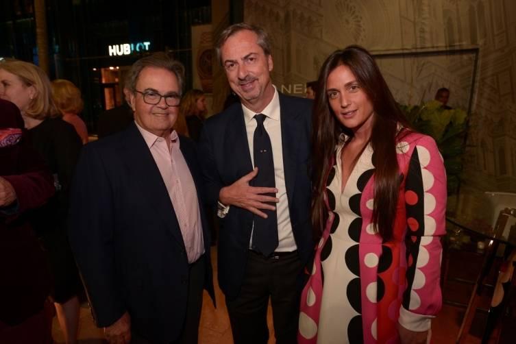 Carlos de la Cruz, Cristiana Vigano, & Carlo Traglio