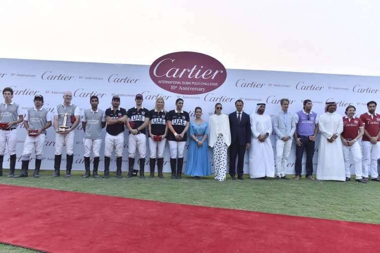 Cartier International Dubai Polo Challenge_Prize giving ceremony