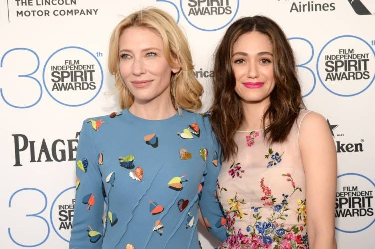 Cate Blanchett and Emmy Rossum