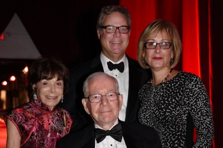 Charlene & Ron Esserman, MCB Treasurer with John & Lynne Richard at the Miami City Ballet Gala
