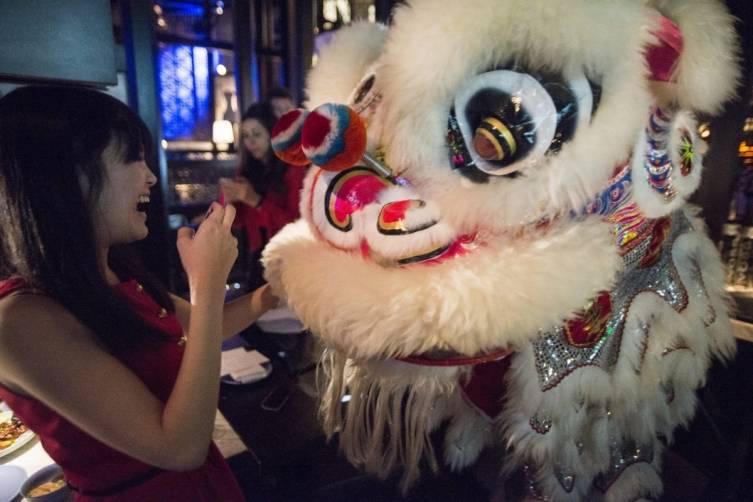 Chinese New Year_Lion Dance2_Hakkasan Restaurant_2.19.15