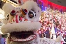 Chinese New Year_Lion Dance_Hakkasan Las Vegas_2.19.15