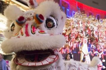 Chinese New Year_Lion Dance_Hakkasan Las Vegas_2.19.15