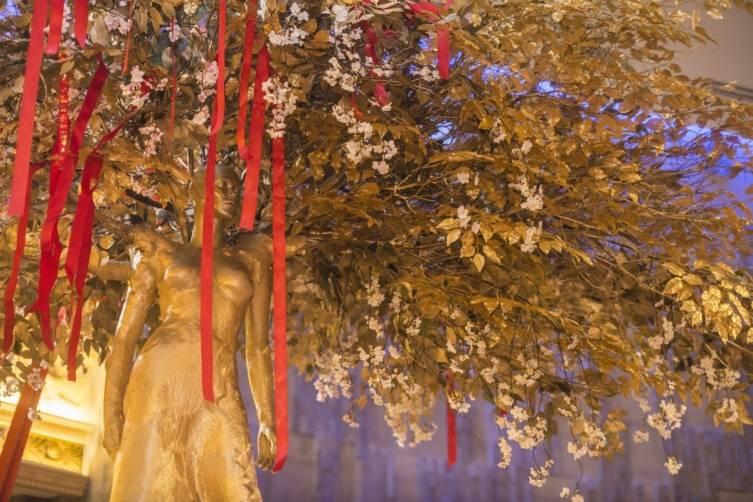 The Hakkasan Wishing Tree.