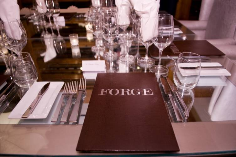 Dinner at The Forge