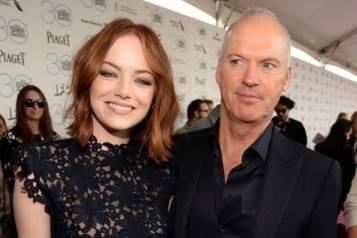 Emma Stone & Michael Keaton