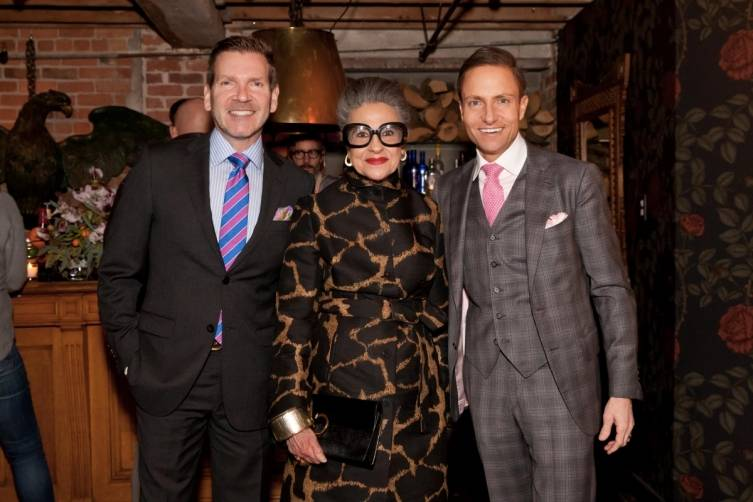 Eric Petsinger, Joy Venturini Bianchi and Ken Fulk