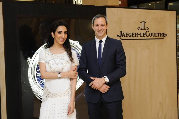 Friend of the Brand Lulwa Al Ayoub and Brand Director Marc de Panafieu