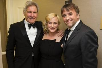 Harrison Ford, Patricia Arquette and Richard Linklater