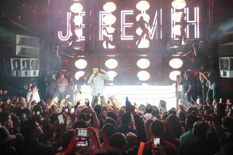 Jeremih plays Marquee.