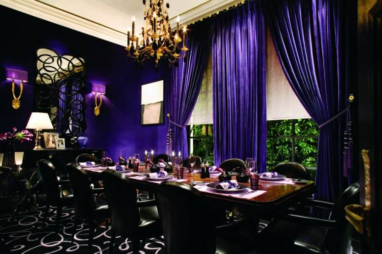 Joel Robuchon dining room