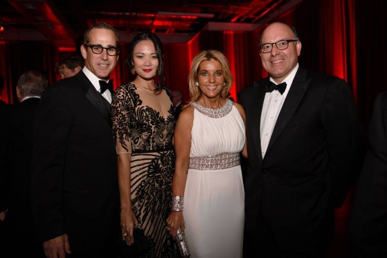 Jonathan & Criselda Breene with Tina & Dan Carlo at the Miami City Ballet Gala 2015