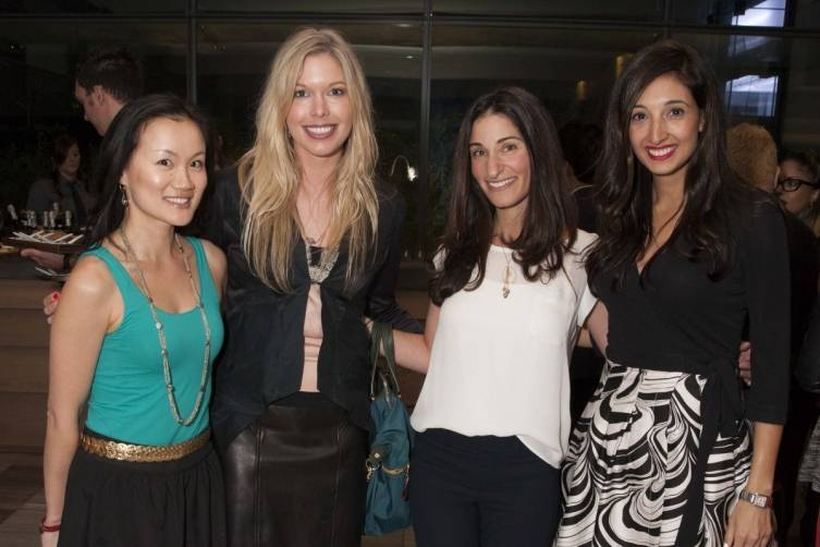 Judy Zhu, Liz Whitman, Danielle Yokell and Katina Mountanos