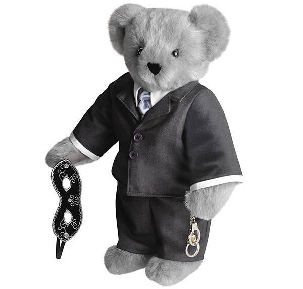 "Vermont Teddy Bear's ""Fifty Shades of Grey bear"""