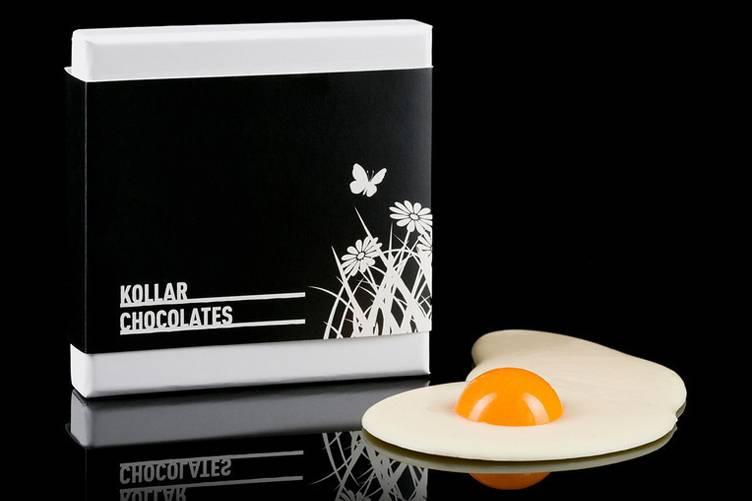 White Chocolate Fried Egg