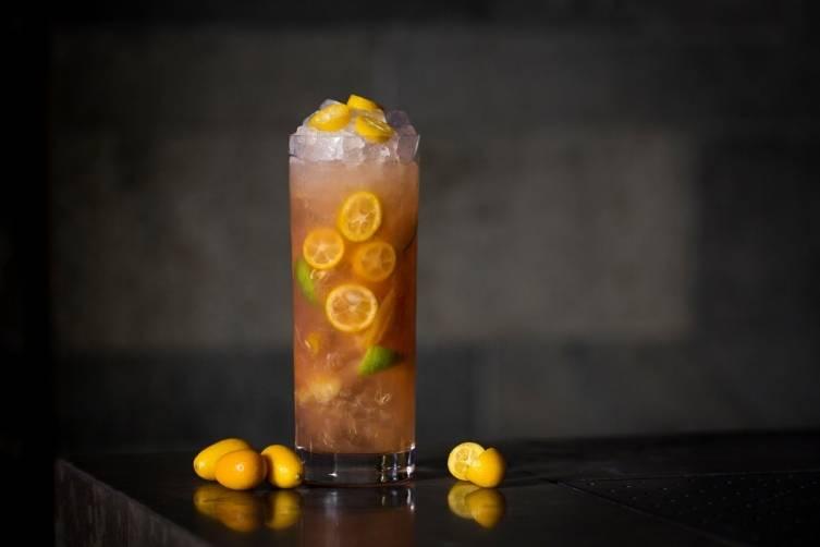 Kumquatcha Cocktail