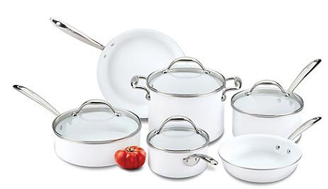 Lagostina Bianca Cookware set