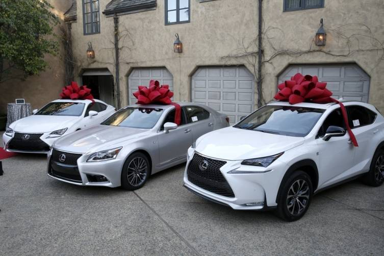 Lexus Hole-in-One cars
