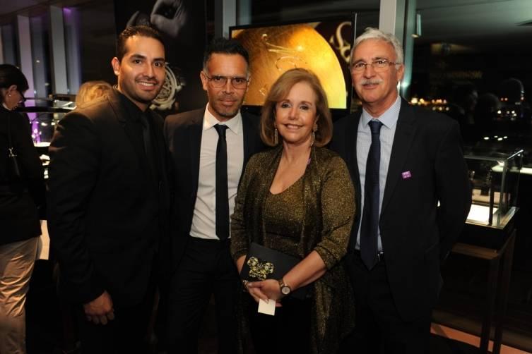 Luis Calenzani, Javier Perrigo, Aida Levitan, & Fernando Petit