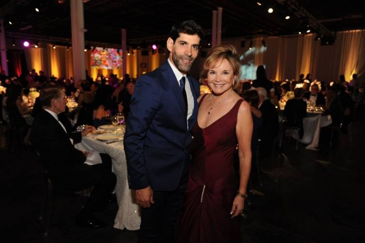 MCB dancer Reyneris Reyes & Board Member Swanee Dimare at the 2015 Miami City Ballet Gala