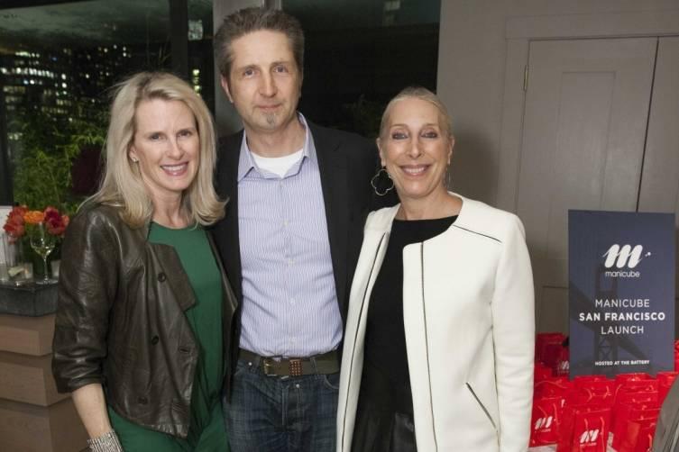 Marie Hurabiell, Robert Grzeszczuk and Betsy Linder