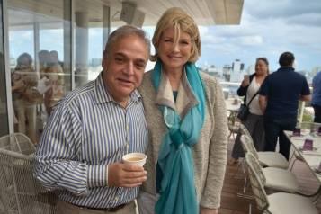 Martha Stewart and Lee Brian Schrager