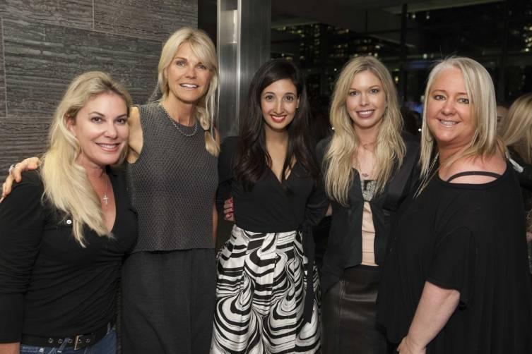 Maryanne Sangiacomo, Jennifer Montana, Katina Mountanos, Liz Whitman and Lori Puccinelli Stern