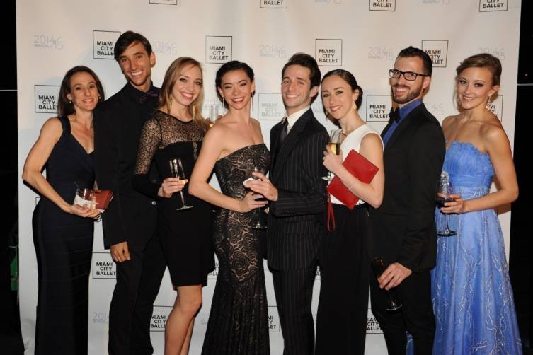 Miami City Ballet Dancers at the 2015 Gala in Wynwood
