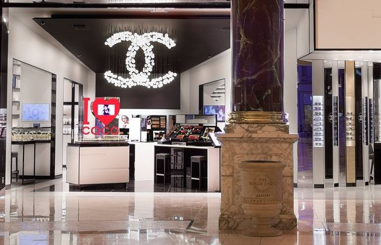 The Only Chanel Beauty Boutique Is Right Here In Las Vegas