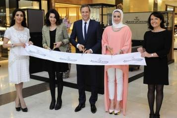 Opening of exhibition at Salhia Mall